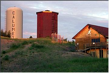Swedetown and the Calumet water tank