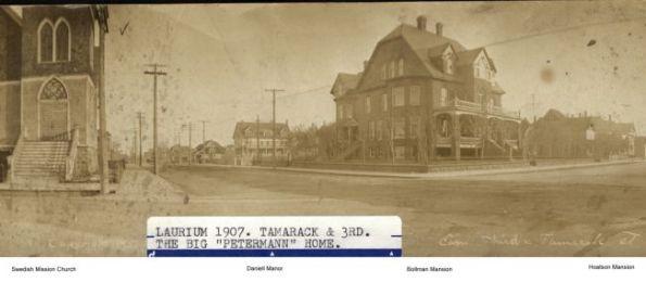 Laurium corner