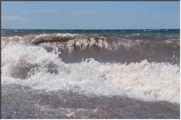 Lake Superior stirred UP