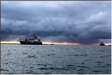 USCGC Alder in town
