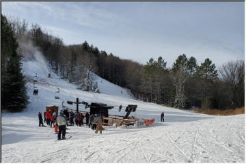 First day to ski