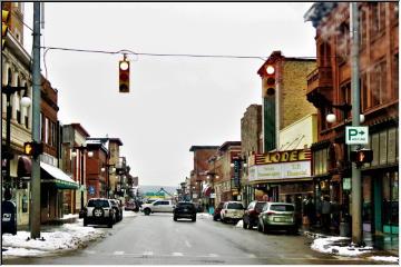 Downtown Houghton
