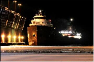 Last freighter this season
