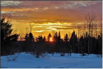 Baraga Sunset