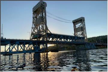 Kayaking on the Portage