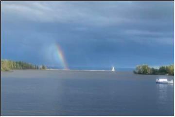 Interesting rainbow