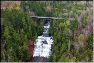 Agate Falls Flyover