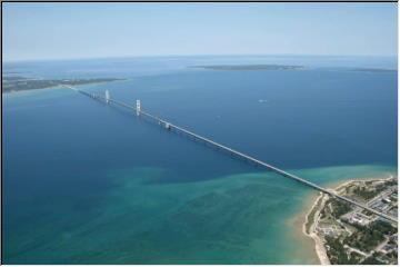 Mackinac Bridge and Island