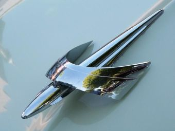Merc hood ornament