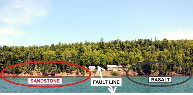 Keweenaw Fault Line