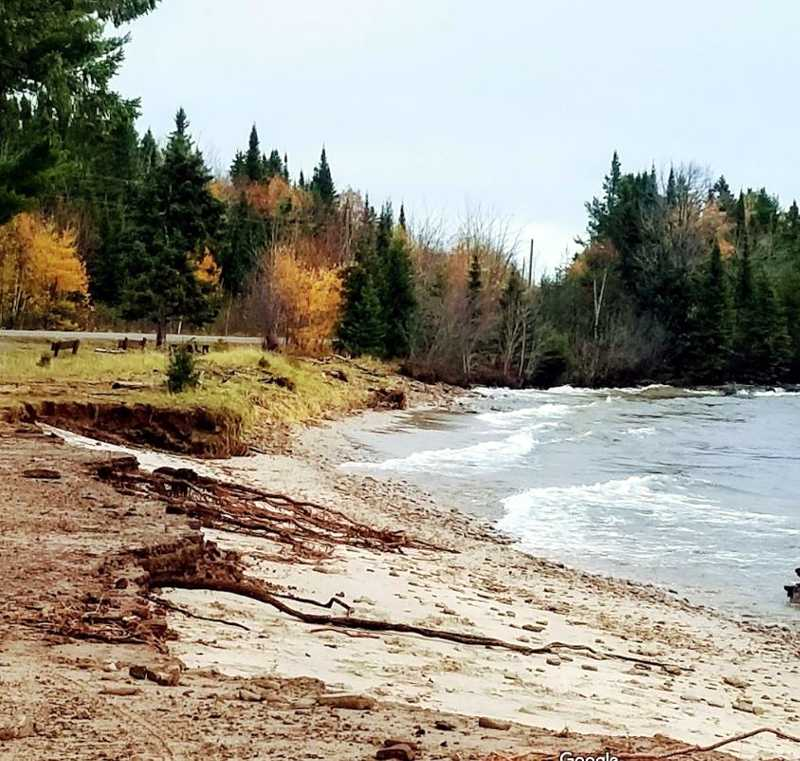 Brunette Park Erosion