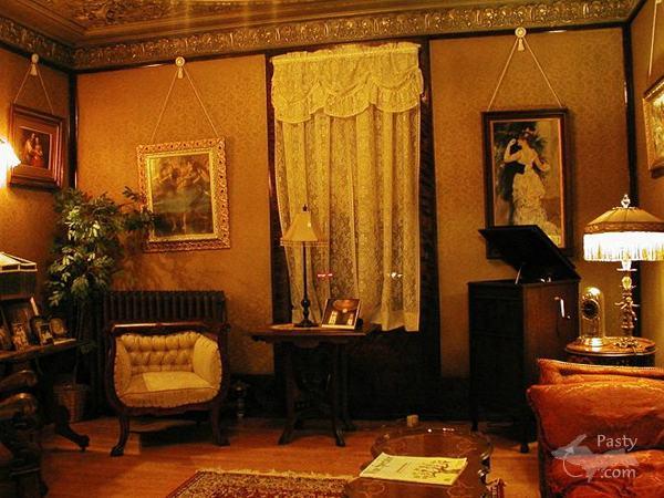 Inside Laurium Manor