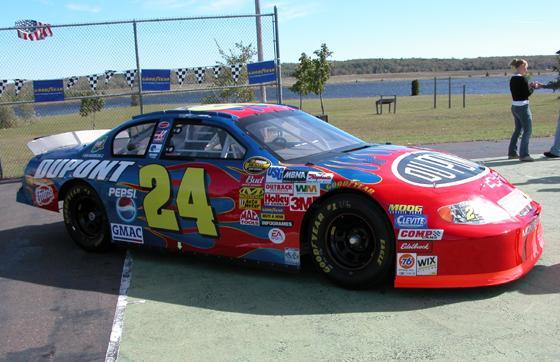 Jeff Gordon's Nascar