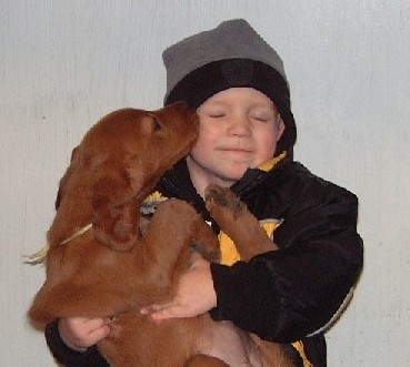 Boy&Pup