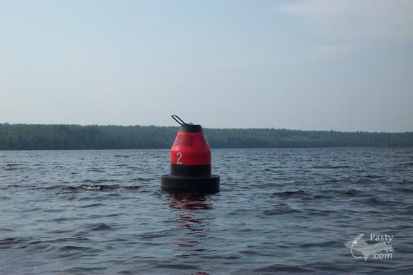 Sunken Dredge Buoy