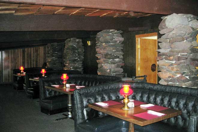 Inside The Hut