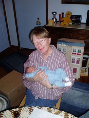 Grandma maija and Thatcher