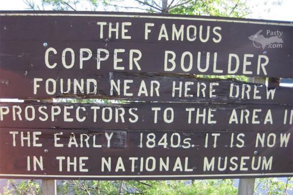 Copper Boulder