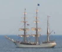 the barque EUROPA July 27 about 0900