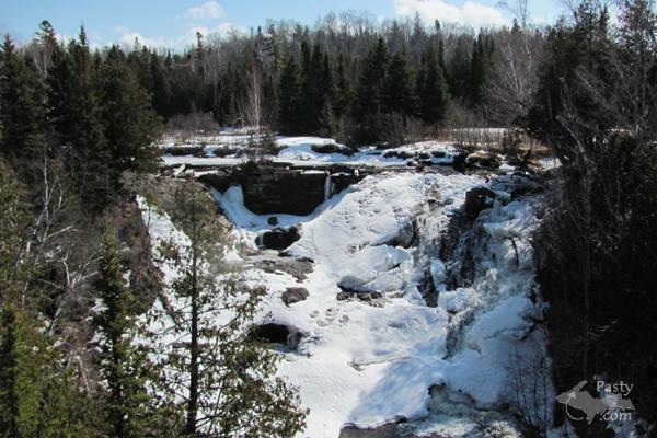 Eagle River Falls - 4/2/11