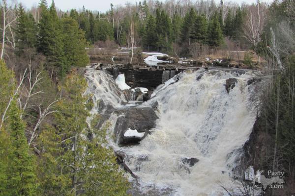 Eagle River Falls - 4/9/11
