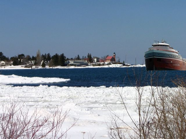 Eagle Harbor Freighter