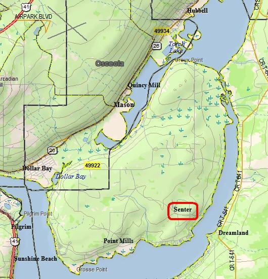 Senter Map