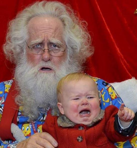 Santa and Ellie