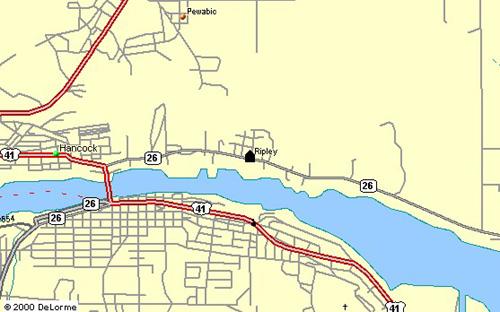 Ripley map
