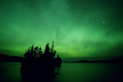 Isle Royale Auroras