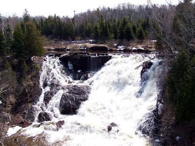 Eagle River Falls - 4/8/04