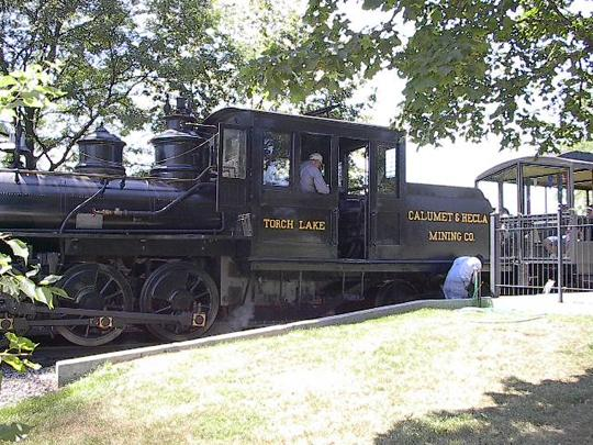 Greenfield Village train