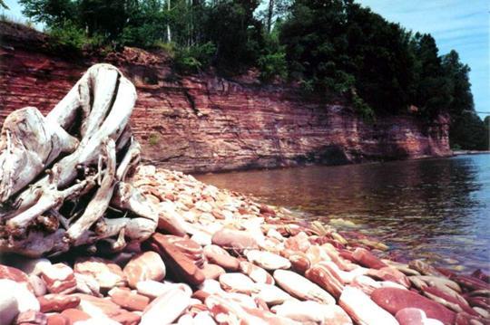 Jacobsville Sandstone Lakeshore