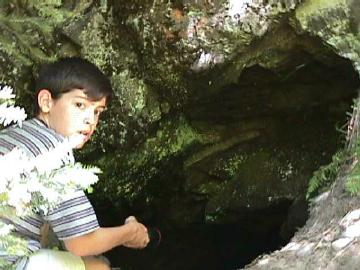 Cody at Cliff Cave