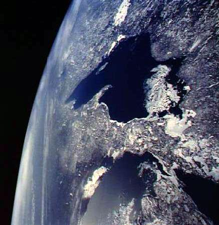 U.P. From Space