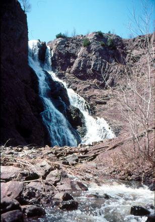 Houghton-Douglass Falls